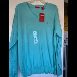 Izod spring V-neck sweater